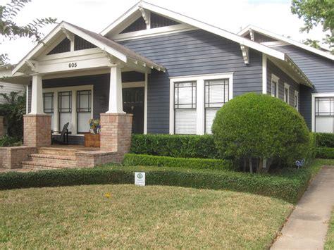 bungalow exterior paint color schemes immaculately kept