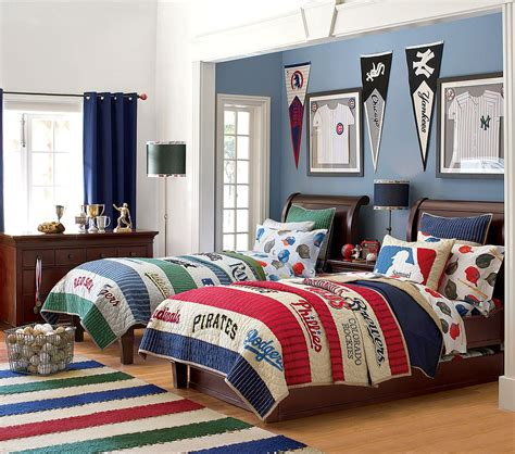 baseball bedrooms little inspirations boys rooms