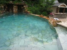 flagstone decoration for long swimming pool for small yard 1000 images about flagstones on pinterest flagstone