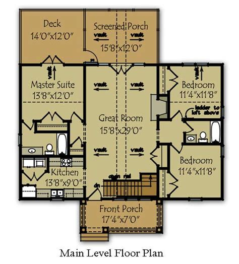 3 bedroom lake cabin floor plan max fulbright designs