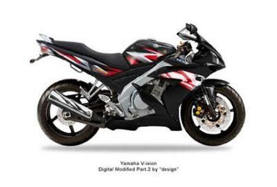 vixion black modification yamaha v ixion black with fairing r1 motorcycle
