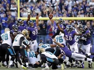 jaguars kicker jaguars accept ravens last gift win on ending myers