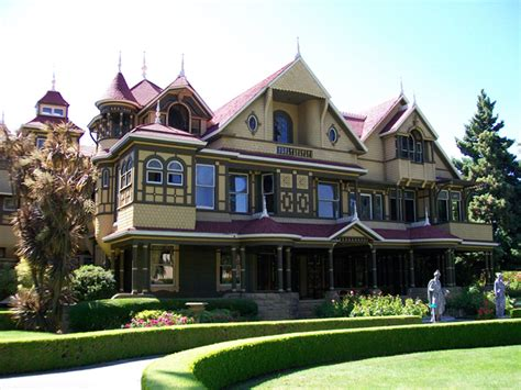 winchester house story the top 5 not so tiny haunted houses