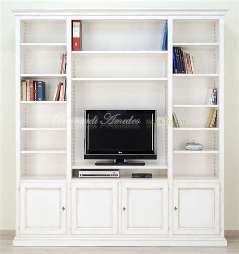 libreria con tv libreria con porta tv librerie
