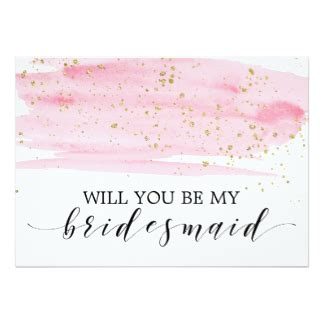 will you be my bridesmaid cards invitations zazzle co uk