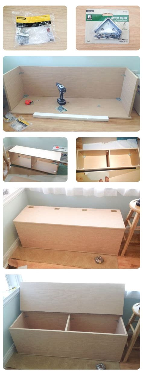 diy storage bench seat the making of storage bench toys for the and window