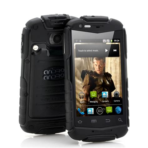 rugged android phone titan 3 5 inch rugged android phone water resistant shockproof dustproof black tzv m376