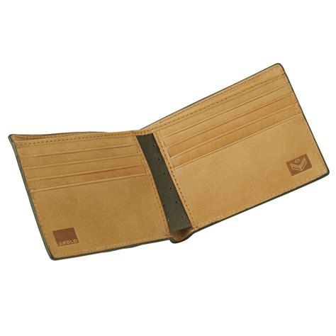 Zigzag Wallet by J Fold Zig Zag Roadster Leather Wallet Black Wallets