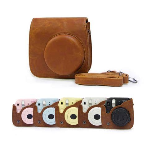 Best Seller Fujifilm Kamera Instax Mini 9 Leather Bag Tas retro pu leather cover for fujifilm fuji