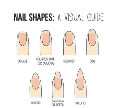 8 Nail Shapes And How To Choose The One For You by What Is The Best Shape Of Finger Nails For Your Here