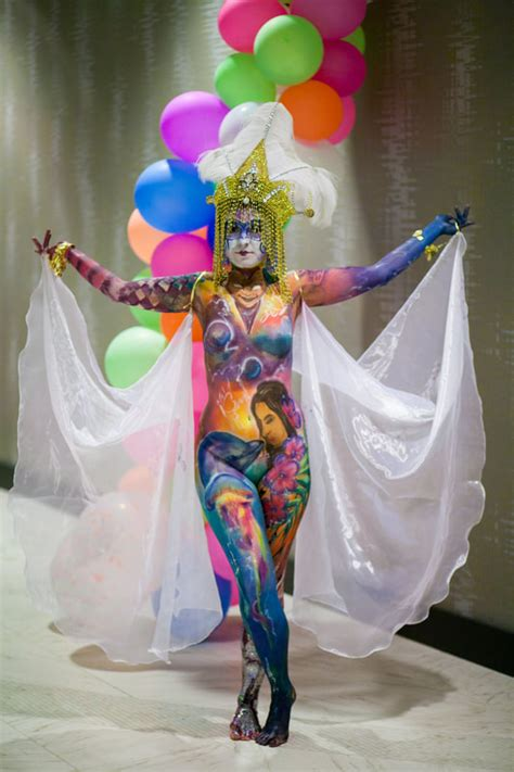 knoxville s best body painter partywow entertainment