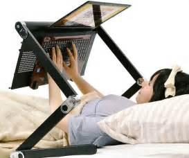 bed desk workstation for laptop
