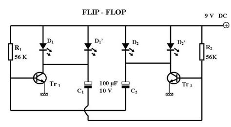 transistor untuk jt rangkaian lu kelap kelip rangkaian flip flop semua