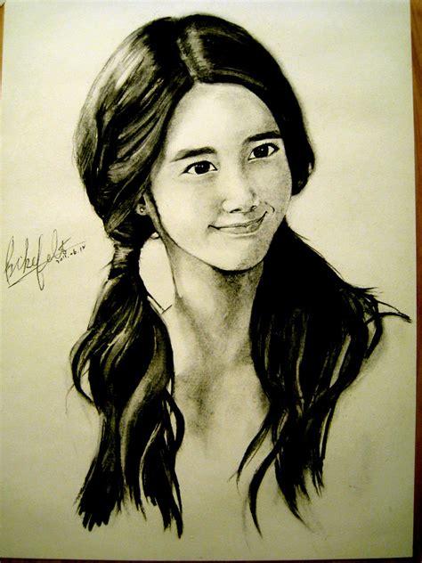 sketchbook snsd sketch snsd yoona generation snsd fan