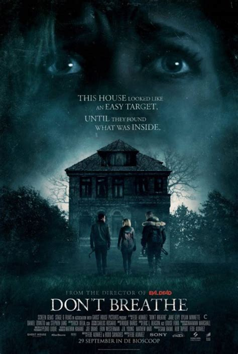 dont breathe don t breathe 2016 poster 1 trailer addict