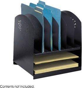upright desk organizer combination desk organizer 6 upright 2 horizontal black