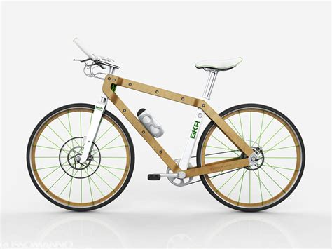 wooden bikes by pietro russomanno and chris connor