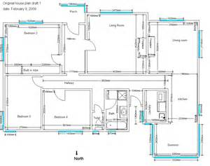 Homes Plans 4 Bedroom House Plans Sle House Plans Drawings House
