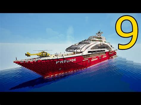 super yacht prelude minecraft project