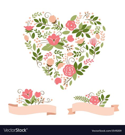 set of vector graphic elements royalty free stock photos set of floral graphic elements royalty free vector image