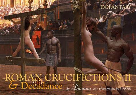 Female Crucifixions By Damian Hot Girls Wallpaper