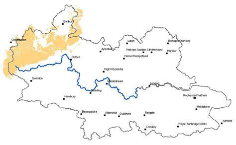 thames river drainage basin great oolite and inferior oolite aquifer properties