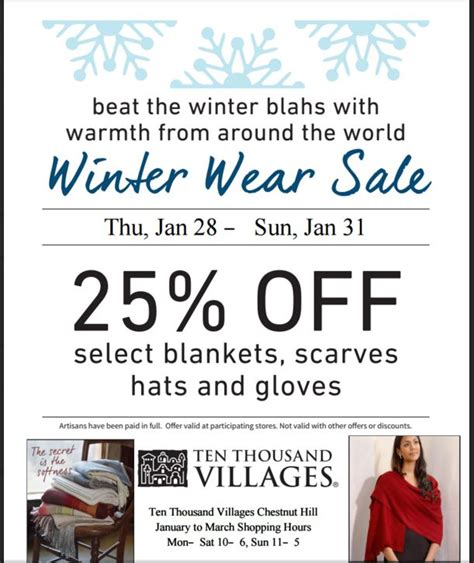 Beat The Winter Blahs by Ten Thousand Villages Beat The Winter Blahs Sale