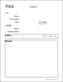 fax forms template free fax cover sheet template printable fax cover sheet