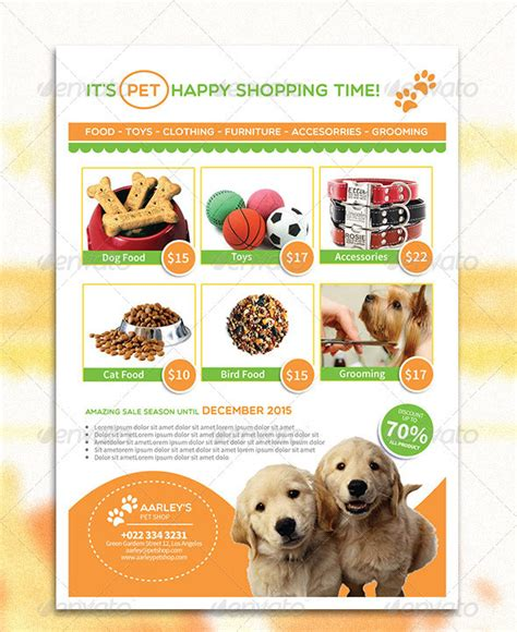 dog sale flyer template okl mindsprout co