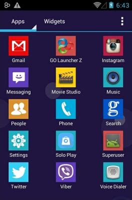 colourful themes for android colorful android theme for solo launcher androidlooks com