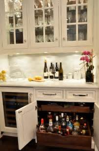 Kitchen Bar Cabinet Ideas by Traditional Kitchen With Storage Ideas Home Bunch