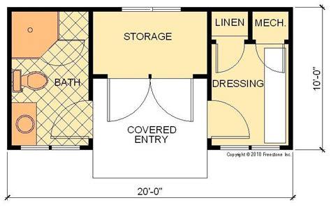 Cabana I Plan Freestone Stock House Plans Pool Cabana   cabana i plan freestone stock house plans pool cabana