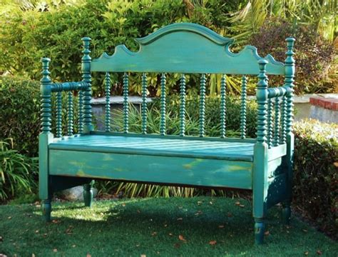 making a bench from a headboard remodelaholic 25 headboard benches how to make your own