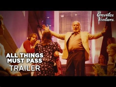all things trailer all things must pass trailer 1 2015