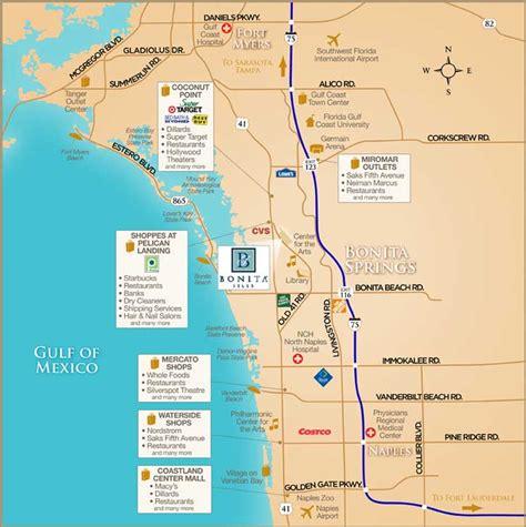 where is bonita springs florida on a map bonita isles location bonita springs new homes fl minto
