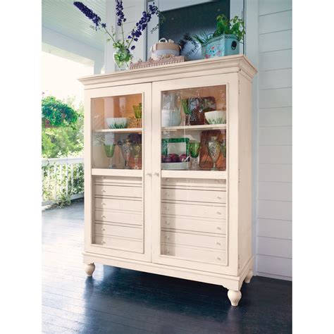 paula deen china cabinet paula deen home the bag ladys cabinet linen china