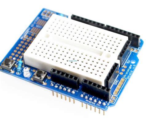 Syb 170 Small Breadboard Protoboard Projectboard uno proto shield prototype expansion board with syb 170 mini breadboard based uno protoshield in