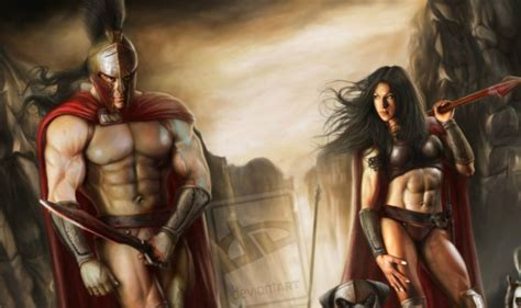 Zhoey Sparta and spartan hottie