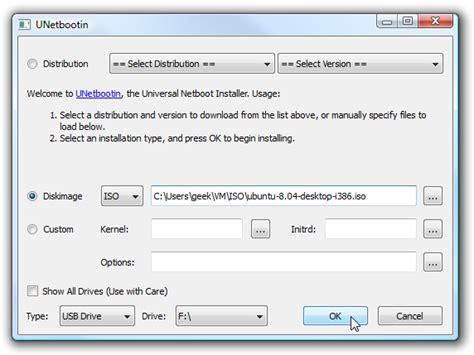 how to install ubuntu from usb how to create ubuntu 9 10 usb bootable flash drive pindigit