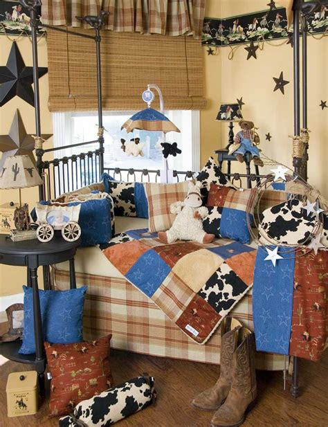 Baby Bedding Sets And Ideas Cowboy Themed Crib Bedding