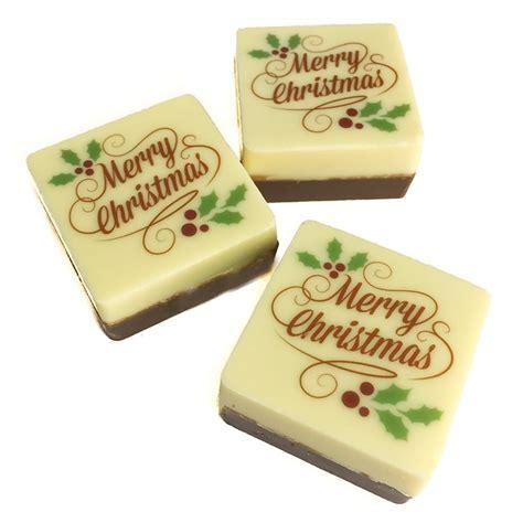 milk white merry christmas squares chocolab