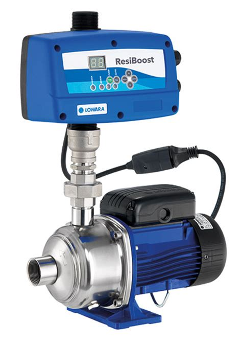 scow pump resiboost intelligent residential constant water pressure