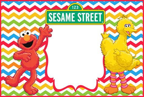 sesame birthday card template 12 printable elmo invitations children s favorite