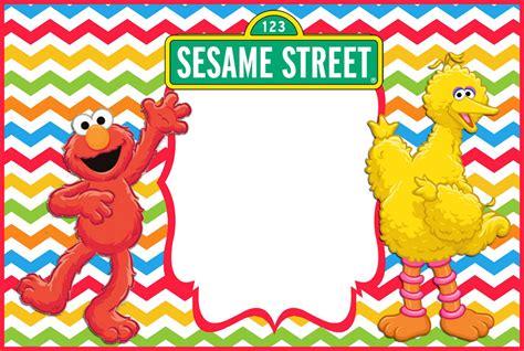 free sesame birthday invitation templates 12 printable elmo invitations children s favorite