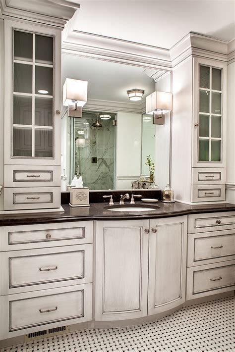 Custom Bathroom Cabinets Custom Bathroom Cabinets With Form And Function Plain Fancy Cabinetry