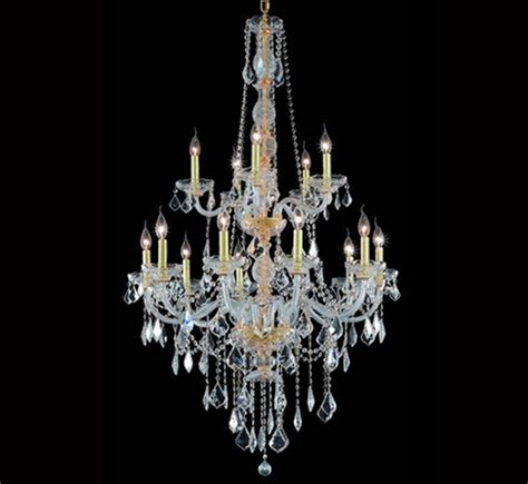 Large Glass Chandeliers Verona Collection 15 Light Large Chandelier Grand Light