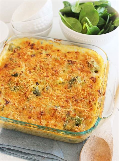 the comfort of cooking skinny baked broccoli macaroni and cheese the comfort