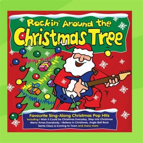 rockin around the christmas tree cd covers