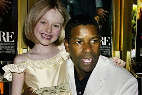 denzel washington dakota fanning dakota fanning grows up on screen