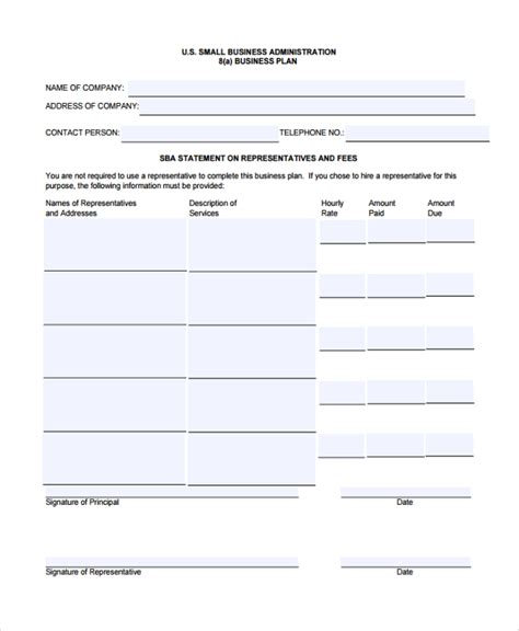 sample consulting business plan template 10 documents in pdf